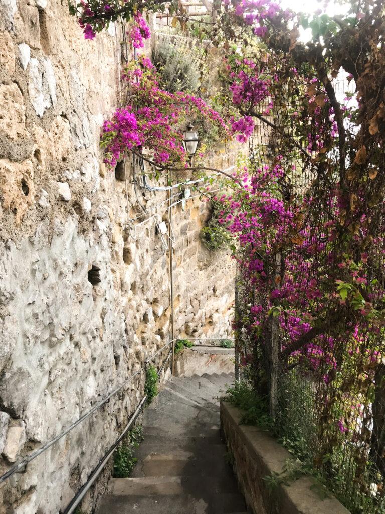 A walk around Positano, Amalfi Coast, Italy