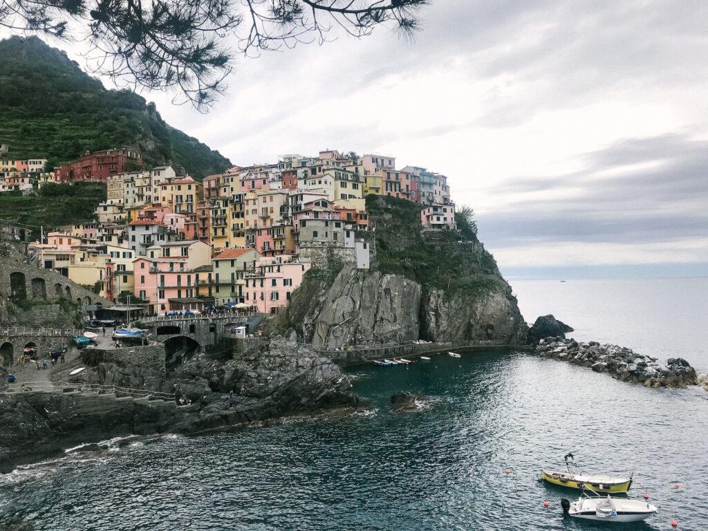 Coast views of Cinque Terre, Italy