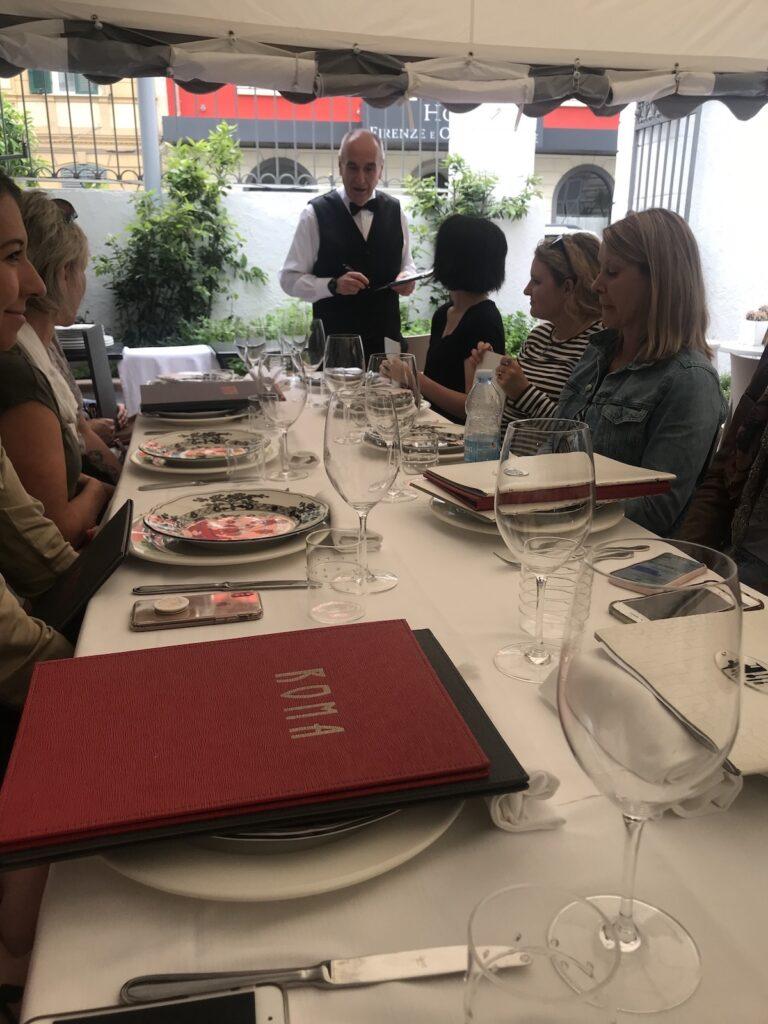 Dinner in Cinque Terre, Italy