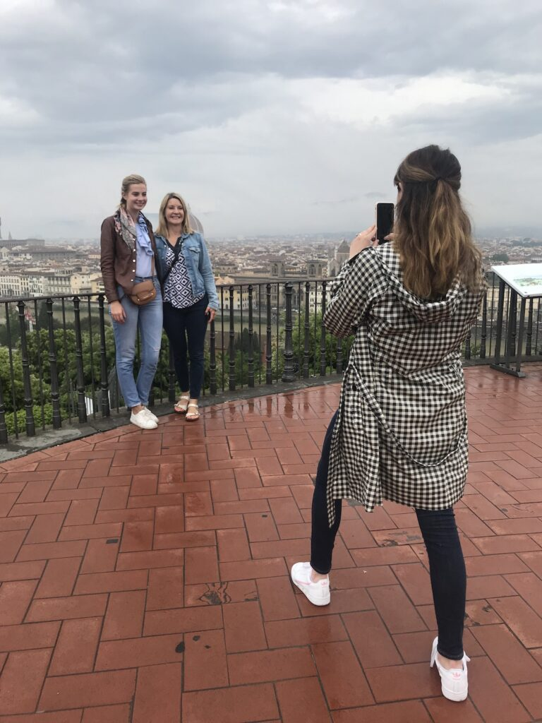 Piazzale Michelangelo in Florence Italy