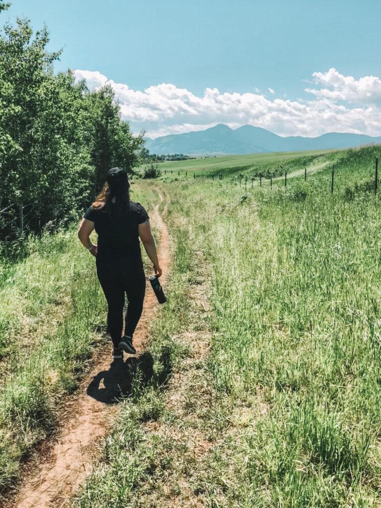 Montana mountain hike