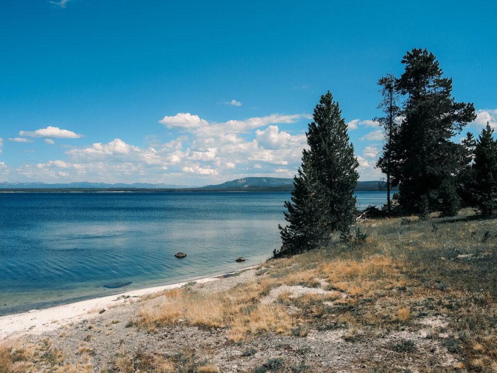 Yellowstone Lake at Yellowstone National Park