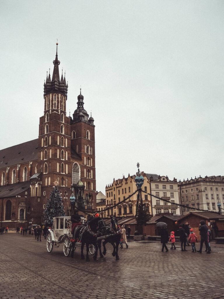 St Mary's Basilica in Krakow, Poland