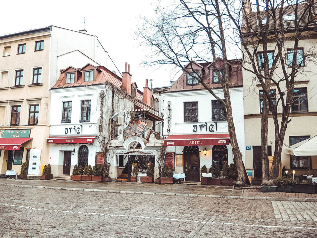Jewish Quarter in Krakow Poland
