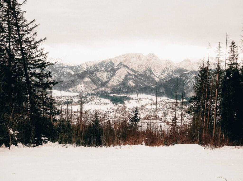 mountain view in Zakopane, Poland