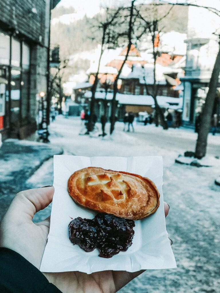 street food in Zakopane, Poland