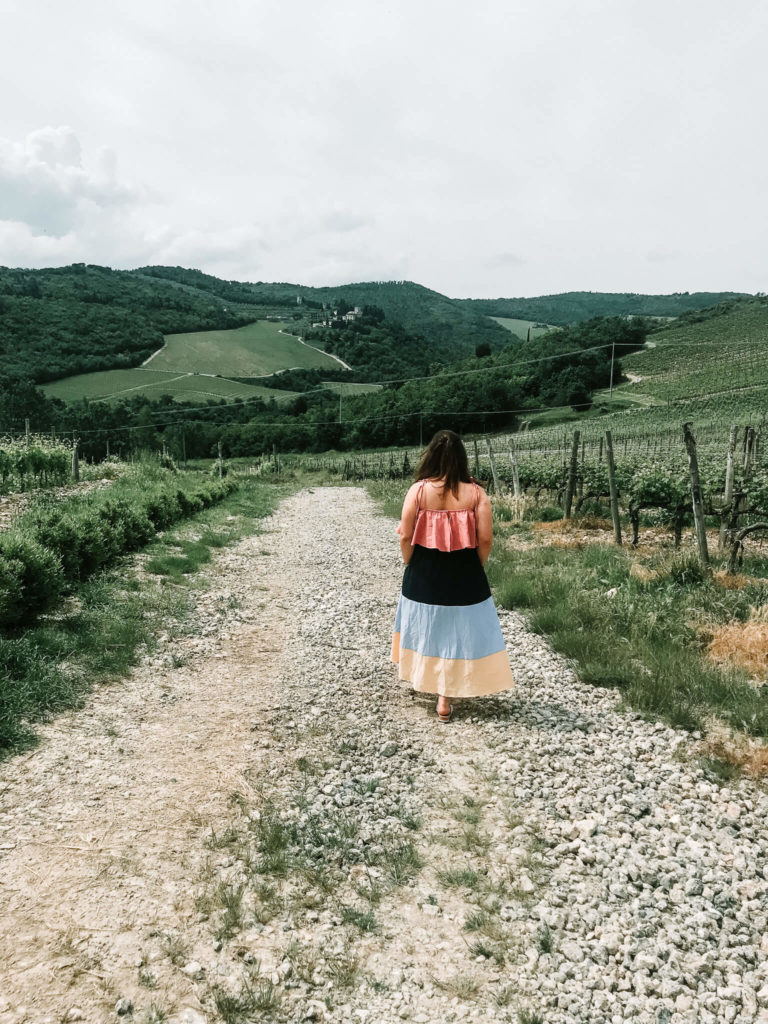 Tuscan winery in Italy