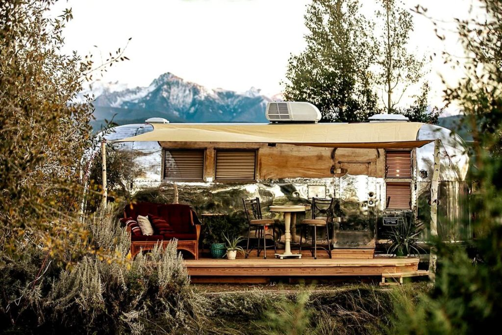 Glamping in Montana
