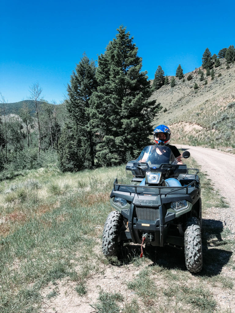riding ATVs in Montana