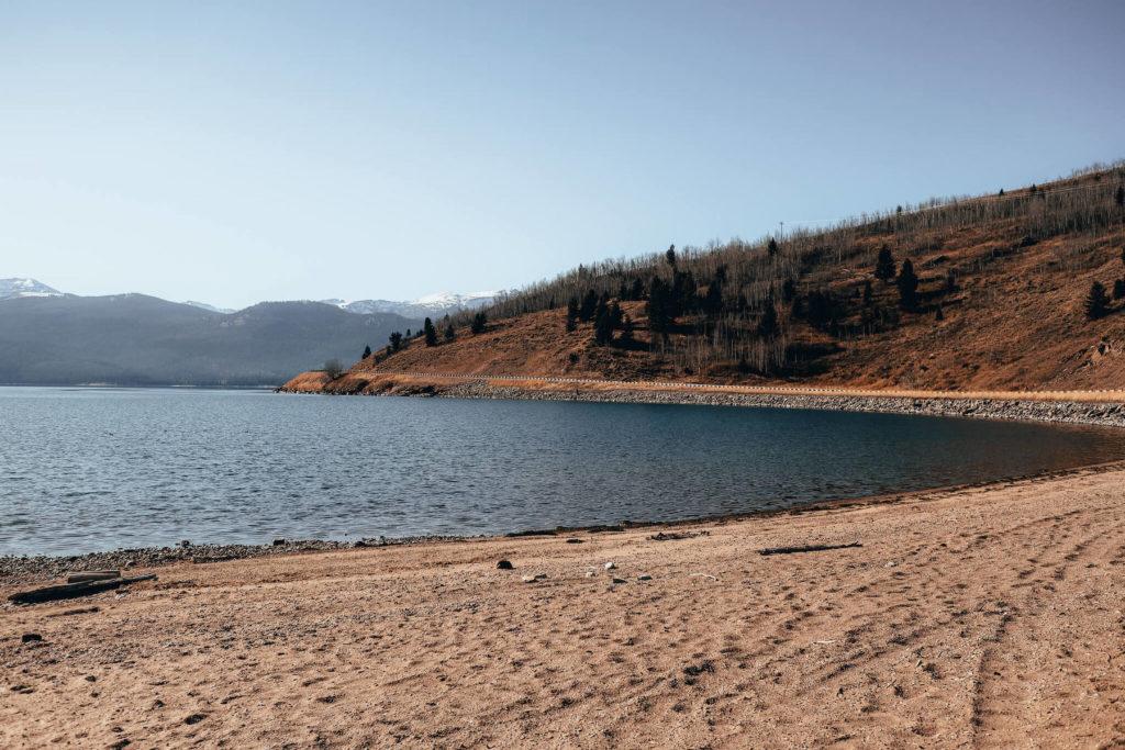 Lake in Montana